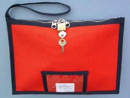 Locking Money Bank Bag