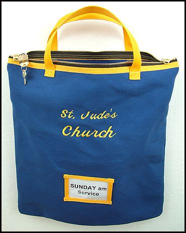 church offering bags
