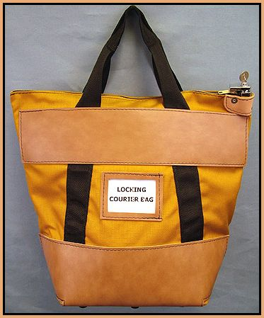 Courier Bag Locking Zipper Transport Bags Heavy Duty